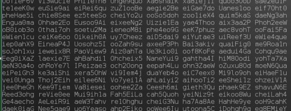 Генерация пароля в linux